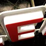 Буквы вакуумформованные с диодной подсветкой 3D - идеальный прочный и долговечный вариант в технологии наружной рекламы.