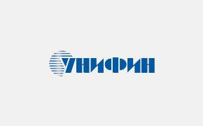 """Изготовление и монтаж световой вывески """"Унифин-банк"""""""