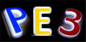 Вакуумформованные буквы